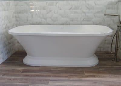 Freestanding Tub in Master Bathroom