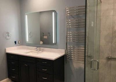 LED Mirror over Vanity