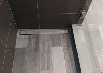 Linear Drain in Shower