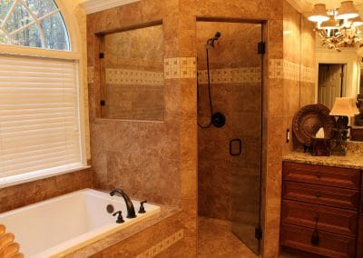 Traditional Shower and Tub Renovation