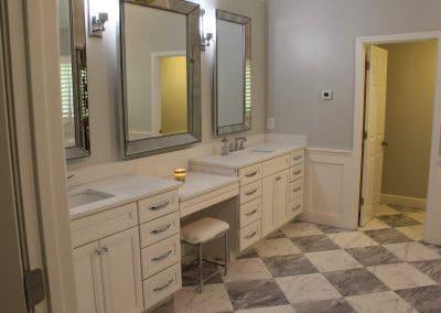 White Grey Marble Floor