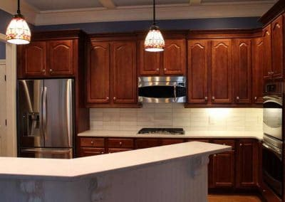 Glacier White Kitchen Backsplash