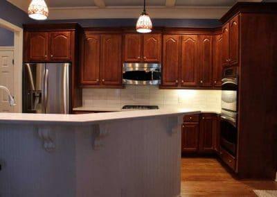 modern design kitchen backsplash