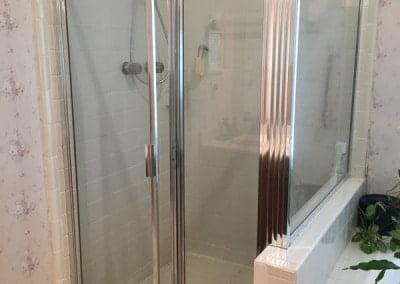 Before - Old Shower Design