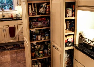 pantry pull out tower